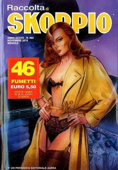 Fumetti EDITORIALE AUREA, Collana SKORPIO RACCOLTA n°502 Novembre 2015