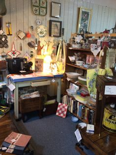 New view at underground antiques