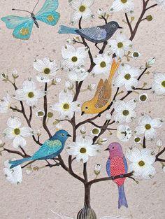 love the birds