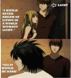 Oh L. :) (Death Note)
