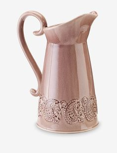 Urban Trends Collection Ceramic Pitcher