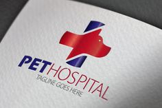 Pet Hospital Logo by Samedia Co. on Creative Market