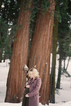 Maternity in the Sequoia Mountains Canon Ftb (35mm Fuji 400 Superia Film) 50MM lens Fine Arts Film Photography