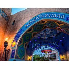 Adventureland gate Disneyland Paris