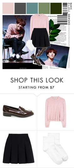 """""""GOT7   Yugyeom"""" by beulah-k ❤ liked on Polyvore featuring Steve Madden, Acne Studios, Alexander Wang and Hue"""