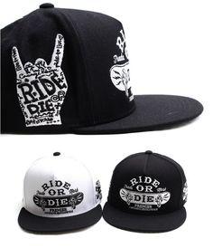 Ride or Die Snapback Premier Hiphop baseball cap skateboard snapback hat #PREMIER #BaseballCap