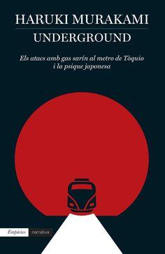 Murakami, Haruki. UNDERGROUND: els atacs amb gas sarín al metro de Tòquio i la psique japonesa. Empúries, 2014.