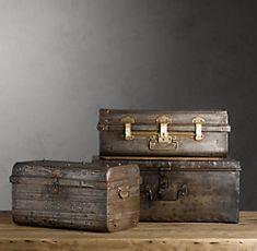 love vintage trunks
