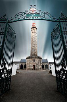 """""""Sentinelle"""" by Guillaume Vassord,  Phare de Goulphar lighthouse on Belle-Île-en-Mer in France."""
