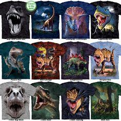 T Rex T Shirt s 3XL Dinosaur Tee Tyrannosaurus Rex Triceratops Stegosaurus New | eBay