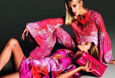 Anja Rubik & Karmen Pedaru by Mert & Marcus (Gucci Spring-Summer 2013)