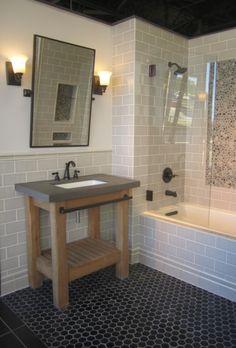 Marble And Ceramic Bath My Work Commercial Tile Shop - Bathroom showrooms san antonio