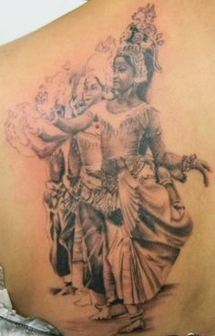 khmer apsara tattoo designs images galleries with a bite. Black Bedroom Furniture Sets. Home Design Ideas