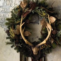 christmas vignettes rustic | Christmas Decorations Latest News, Photos and Videos | POPSUGAR Home