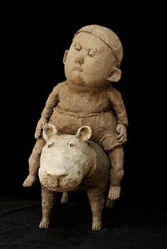Sculpture Art, Garden Sculpture, Legrand, Ceramic Art, House Ideas, Teddy Bear, Decorating, Toys, Outdoor Decor