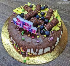 Narodeninová torta - recept | Varecha.sk Mango, Birthday Cake, Food, Manga, Birthday Cakes, Eten, Meals, Cake Birthday, Birthday Sheet Cakes