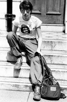 Pistols Fan, London 1977