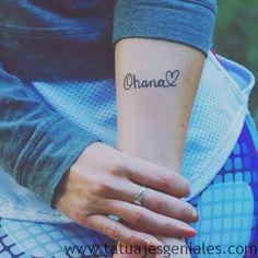30 Originales Tatuajes de Ohana con gran significado