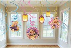 rapunzel party -decorations