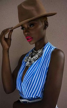 Her skin is amazing! And the colors really pop #Gorgeous