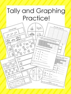 Tally and Graphing practice!