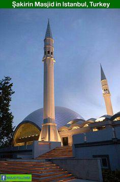 Sakarin Masjid in Istanbul  Turkey