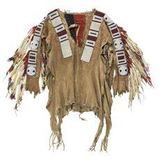 shirt, Blackfoot. Nat. Mus. Scotland. Date unknown.