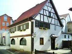 "Meiningen in Thüringen, Gaststätte ""Zum Goldenen Zwinger"""