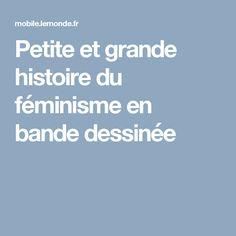 Petite et grande histoire du féminisme en bande dessinée