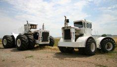 'Big Bud', the world's largest farm tractors