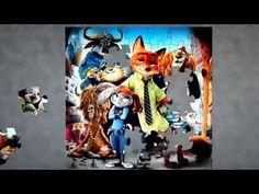 Zootopia Disney Puzzle Games Clementoni Kids Toys Play Learn Rompecabezas De Puzzel Yapboz