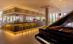 Bar iluminado - Hotel RH Princesa Benidorm