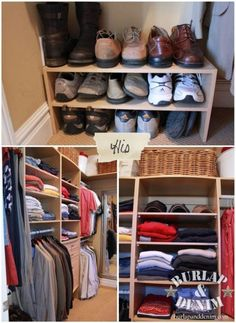 His Closet Organized 2