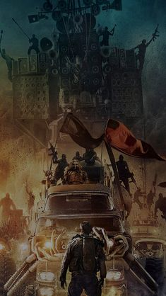 Poster Mad Max Furyroad Art Illust Dark #iPhone #5s #wallpaper