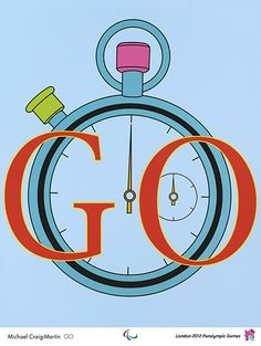 GO, by Michael Craig-Martin. Michael Craig-Martin combines quotidian objects such as light bulbs, chairs, and umbrellas with everyday. James Rosenquist, Michael Craig, Tracey Emin, Claes Oldenburg, Jasper Johns, Ligne Claire, Creative Review, Poster Prints, Art Prints