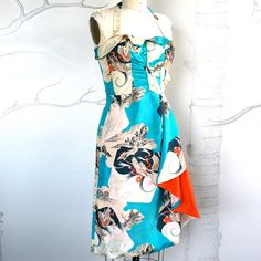 Your place to buy and sell all things handmade Fifties Fashion, Retro Fashion, Hawaiin Dress, Tiki Dress, Island Wear, Sarong Dress, My Style, Retro Style, Vintage Style