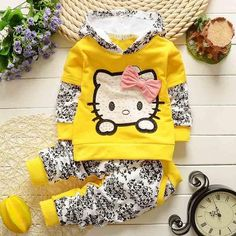Baby Girls Clothing Litter Child clothes sport suit infant Girl sweatshirt outerwear