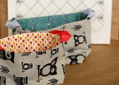 Cute little bags by GoldWillow, via Flickr