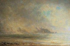 The Needles In Mist (The Needles From Alum Bay) - Philip Wilson Steer