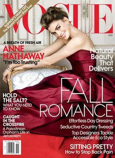 cs5tutorialsnew: The magazine covers the most beautiful fashion in 2010, anne hathaway