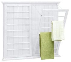 Just ordered this for my laundry room! Kind of expensive, but it will be totally worth it to have more room in our laundry room!