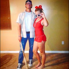 Classic Squints and Wendy Peffercorn Halloween costumes! Too easy and so cute :)