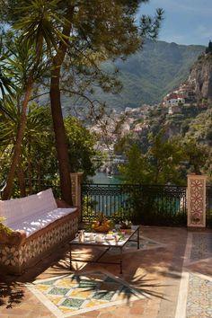 POSITANO - Una bella villa sul Mare (Campania)