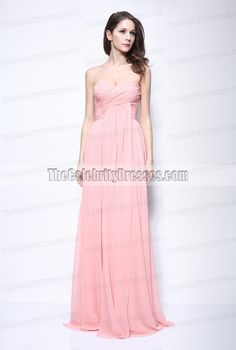 Rhea Durham Strapless Prom Bridesmaid Dress Golden Globes Gown - TheCelebrityDresses
