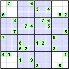 Number Logic Puzzles: 20286 - Sudoku size 9