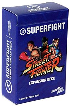 Superfight! Street Fighter Card Game Expansion Deck Super...