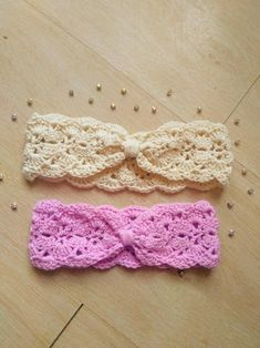 Crochet Headband Free, Booties Crochet, Crochet Baby Shoes, Newborn Crochet, Crochet Flower Headbands, Pattern Baby, Baby Patterns, Crochet Patterns, Pattern Flower