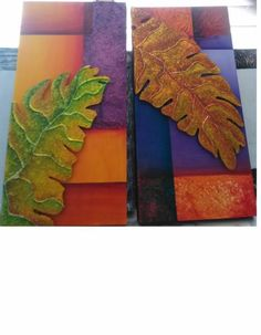 cuadros con texturas - Buscar con Google Modern Art, Plant Leaves, Mixed Media, Tutorials, Paintings, Country, Disney, Frame, Google