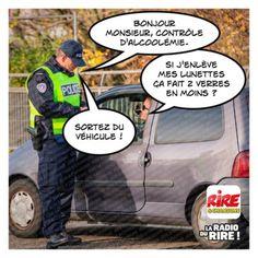 Bonjour Monsieur l'Agent - Les images drôles de Rire & Chansons