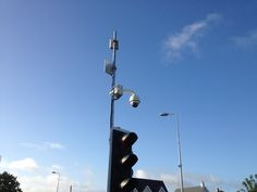 Cctv on traffic lights